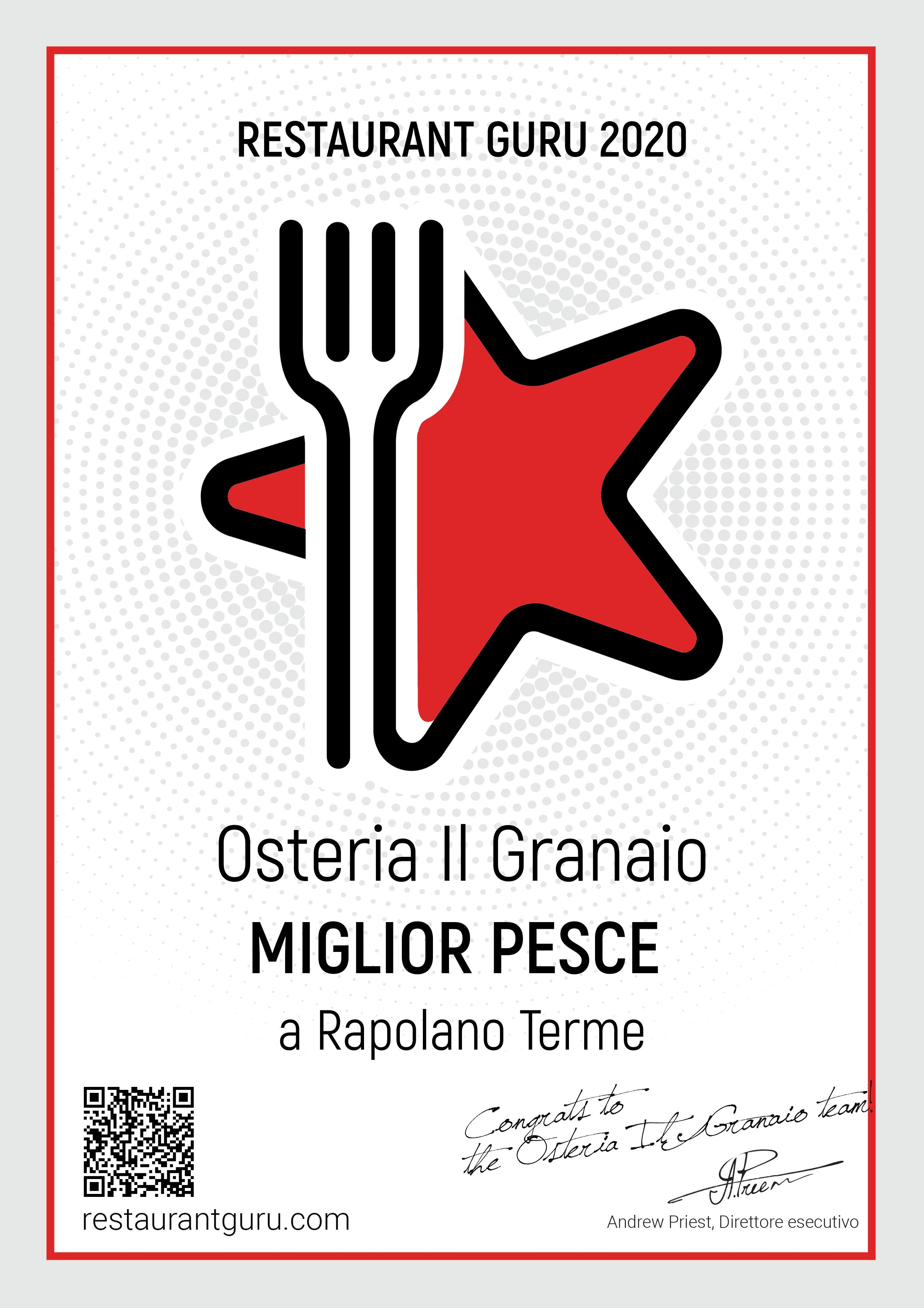 RestaurantGuru_Certificate-MigliorPesce